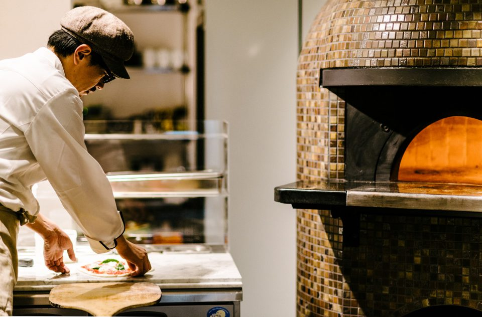 オリジナルピザでおもてなし ピザビュッフェ