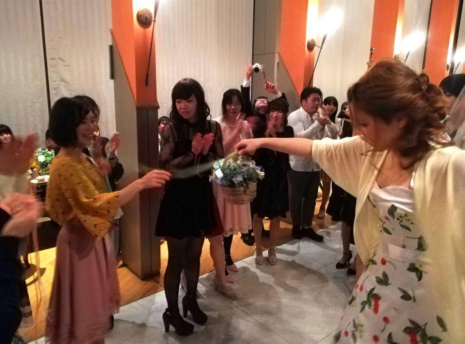 京都 結婚式 ブーケプルズ
