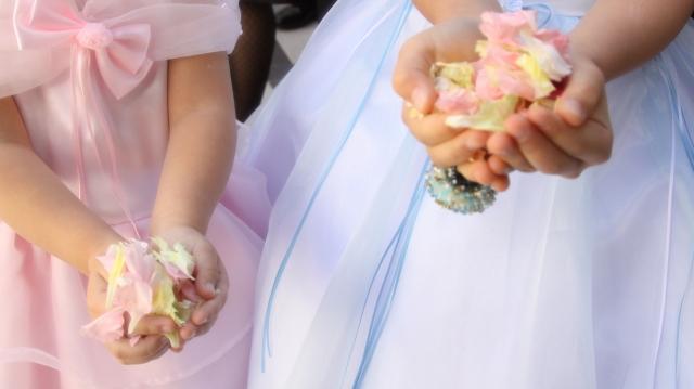 子供が活躍できる結婚式の演出