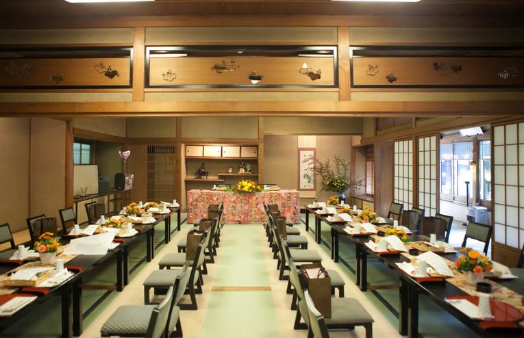 東観荘 純和風の料亭で行う結婚式