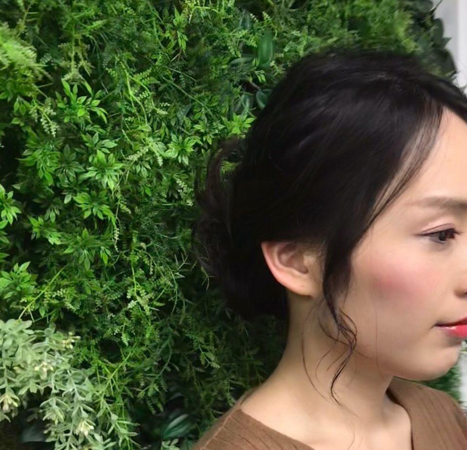 新婦様のヘアメイク髪型の写真